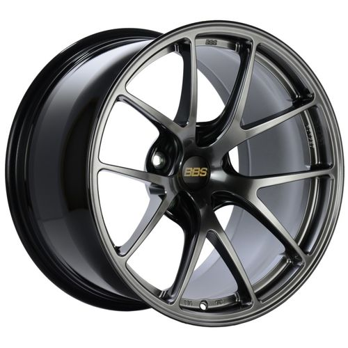 BBS 048 RI-A 18x11 5x120 ET37 Diamond Black Wheel -82mm PFS/Clip Required
