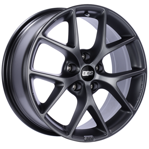 BBS SR 017 18x8 5x114.3 ET40 Satin Grey Wheel -82mm PFS/Clip Required