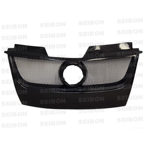 Seibon TB-STYLE CARBON FIBER FRONT GRILLE FOR 2006-2009 VOLKSWAGEN GOLF GTI
