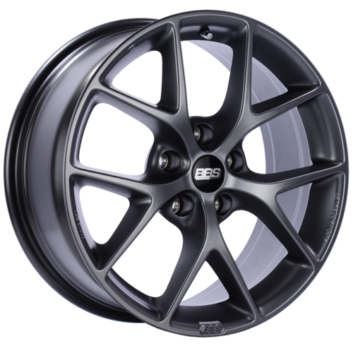 BBS SR 029 19x8.5 5x114.3 ET45 Satin Grey Wheel -82mm PFS/Clip Required