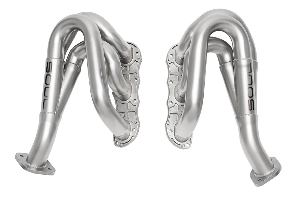 Soul Performance Porsche 981 GT4 / Spyder Competition Headers (catless)
