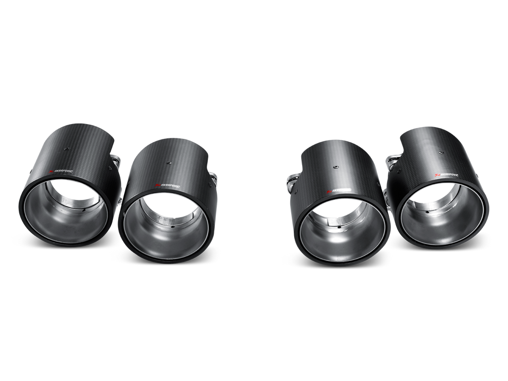 Akrapovic 10-14 Porsche Cayenne (958) Tail Pipe Set (Carbon)