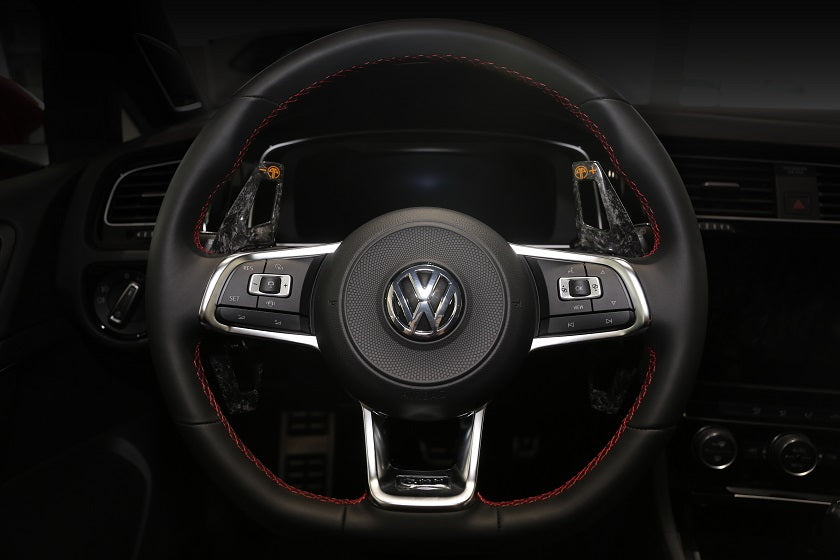 ARMASPEED VW Golf GTI Forged Carbon Wheel Paddle shifter