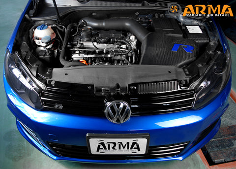 ARMASPEED VW Golf 6R Carbon Cold Air Intake