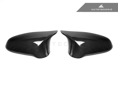 AutoTecknic Replacement Version II Dry Carbon Mirror Covers - F87 M2 Competition | F80 M3 | F82/ F83 M4