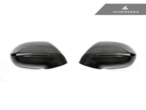 AutoTecknic Replacement Carbon Mirror Covers - Audi A7/ S7 2011-Up