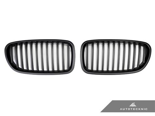 AutoTecknic Stealth Black Front Grilles - F10 Sedan/ F11 Wagon | 5-Series