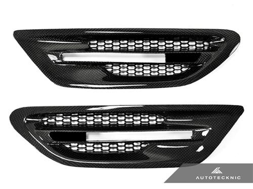 AutoTecknic Replacement Carbon Fiber Fender Vents - F10 Sedan | M5