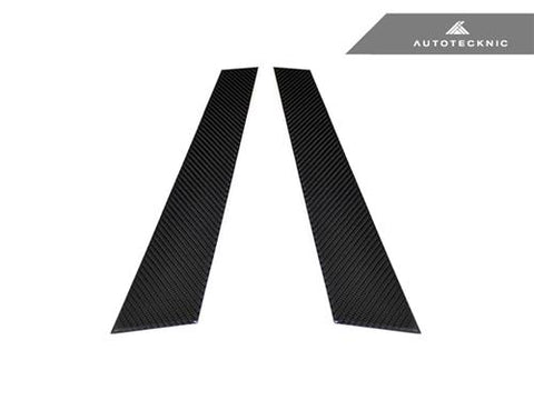 AutoTecknic Carbon Fiber B-Pillar Covers - BMW E36 2Dr Coupe