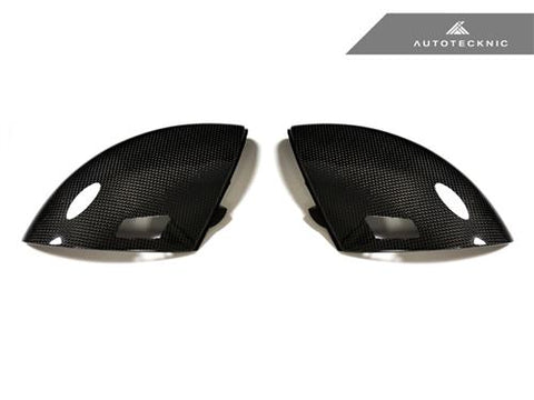 AutoTecknic Replacement Carbon Fiber Mirror Covers - BMW E60 M5 | E63 M6