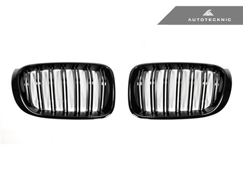 AutoTecknic Replacement Glazing Black Front Grilles - F25 X3 LCI | F26 X4