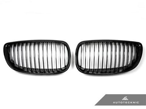 AutoTecknic Replacement Glazing Black Front Grilles - E92/ E93 3-Series (including E9X M3)