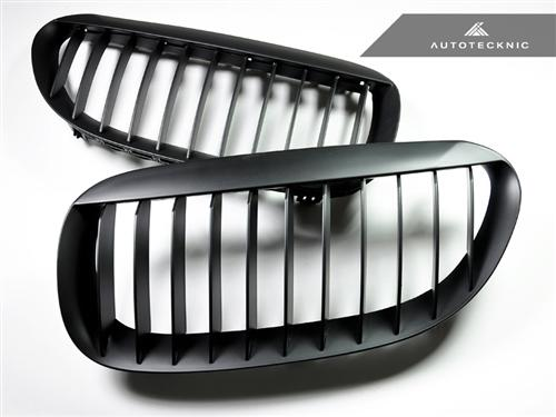 AutoTecknic Replacement Stealth Black Front Grilles - E63 Coupe / E64 Cabrio | 6 Series & M6