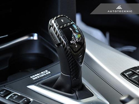 AutoTecknic Carbon Fiber Gear Selector Cover - BMW (Sport Automatic Transmission Equipped Only)