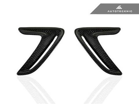 AutoTecknic Replacement Carbon Fender Trim - F34 3-Series GT (Gran Turismo)
