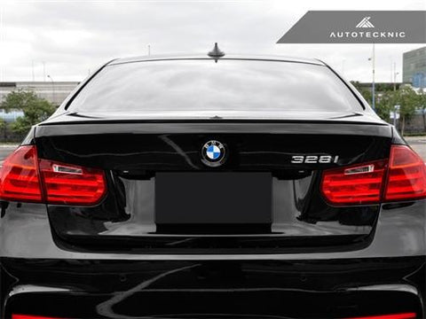AutoTecknic Carbon Fiber Trunk Lip Spoiler - BMW F30 3-Series Sedan | F80 M3