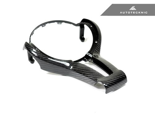 AutoTecknic Carbon Outer Steering Wheel Trim - F-Chassis M Vehicles