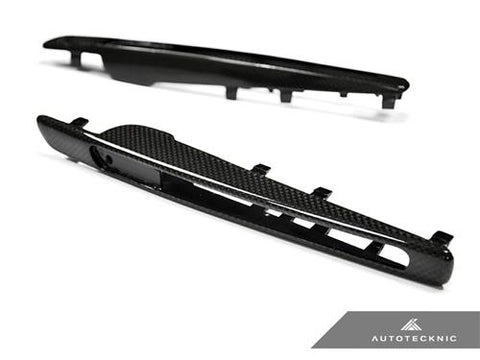AutoTecknic Replacement Carbon Fiber Fender Gills - E71 X6M
