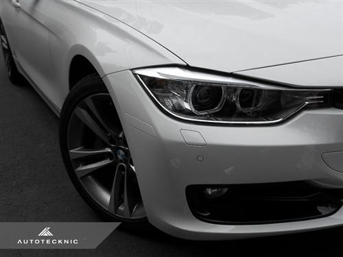 AutoTecknic Painted Front Bumper Reflectors - BMW F30 3-Series (Non-MSport)