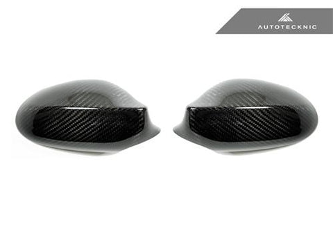 AutoTecknic Dry Carbon Fiber Mirror Covers - BMW E82 Coupe / E87 Wagon (Pre-Facelift) / E88 Cabrio | 1 Series