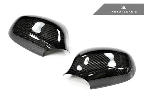 AutoTecknic Dry Carbon Fiber Mirror Covers - BMW E90/ E91 LCI (09-Up Facelift) 3 Series Sedan/ Wagon