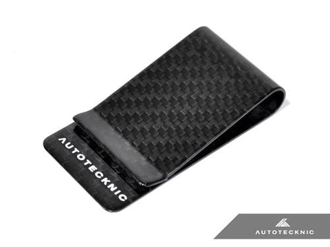 AutoTecknic Dry Carbon Fiber Money Clip - Version 2