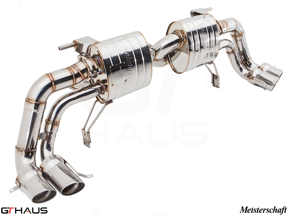 GTHAUS MEISTERSCHAFT AUDI R8 COUPE GTS (Ultimate Sport Performance) Titanium Exhaust