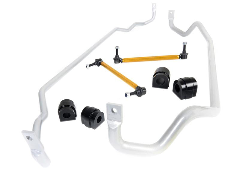Whiteline 05-13 BMW 1 Series/3 Series Front & Rear Sway Bar Kit