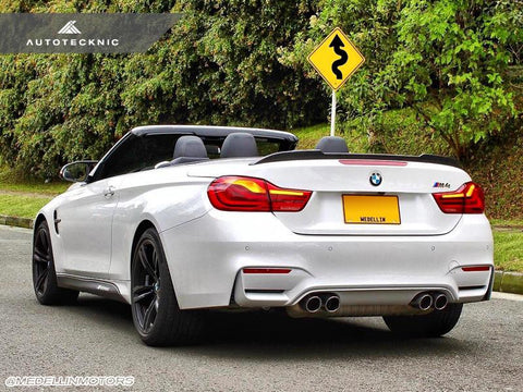 AutoTecknic Carbon Competition Trunk Spoiler - F33 4-Series / F83 M4 Convertible