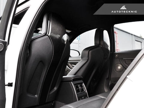 AutoTecknic Dry Carbon Seat Back Cover - F87 M2 Competition | F80 M3 | F82 M4