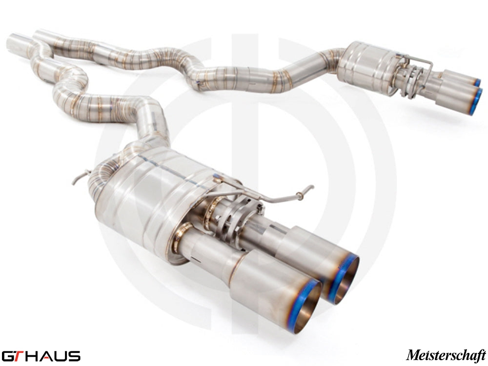 GTHAUS MEISTERSCHAFT BMW M6 (F12/F13) SGT Racing (Super GT Racing Ultimate Version) Titanium Exhaust