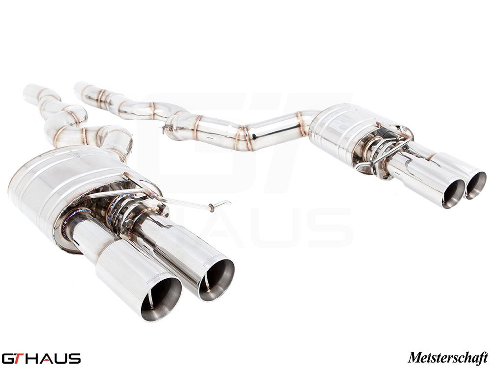 GTHAUS MEISTERSCHAFT BMW M6 (F06) GranCoupe SGT Racing (Super GT Racing Ultimate Version) Exhaust