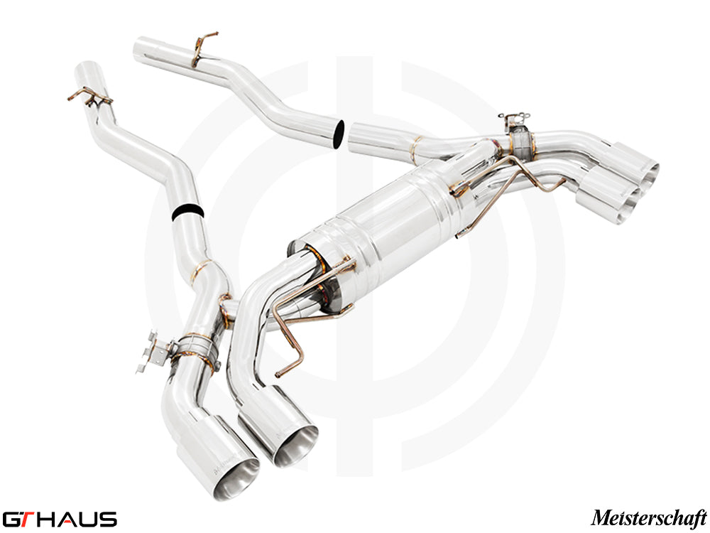 GTHAUS MEISTERSCHAFT BMW M8 Competition (F91/F92) Coupe / Convertible GTC-OEC Exhaust