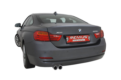 REMUS Performance Sport Exhaust BMW 3 Series F30 Sedan F31 Sport Wagon 328i Cat Back