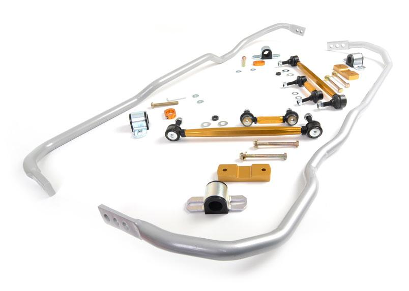 Whiteline Front And Rear Sway Bar - Vehicle Kit