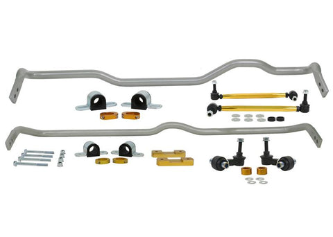 Whiteline 15-18 Volkswagen Golf R Front & Rear Sway Bar Kit