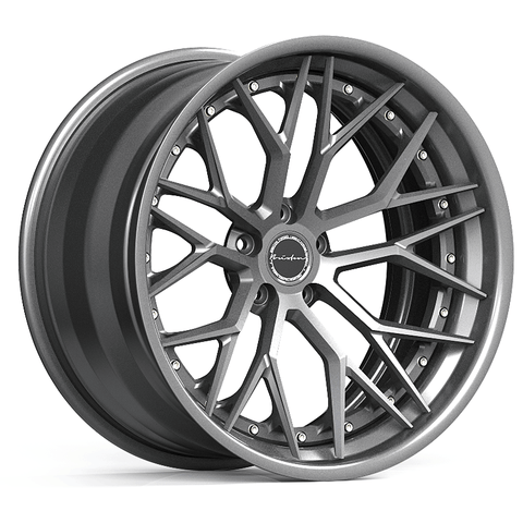 Brixton Forged CM10 TARGA SERIES 3 PIECE STEP-LIP Starting from $2181 per wheel