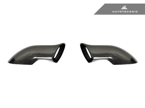 AutoTecknic Carbon Sport Design Mirror Arms - Porsche 991 | Carrera |Turbo | GT3 | GT3 RS