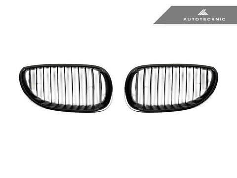AutoTecknic Replacement Glazing Black Front Grilles - E60/E61 5-Series | M5