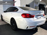 AutoTecknic ABS High-Kick Trunk Spoiler - BMW F36 4-Series Gran Coupe