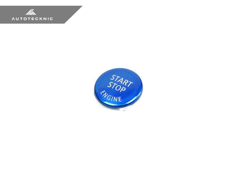 AutoTecknic Royal Blue Start Stop Button - BMW E-Chassis Vehicles