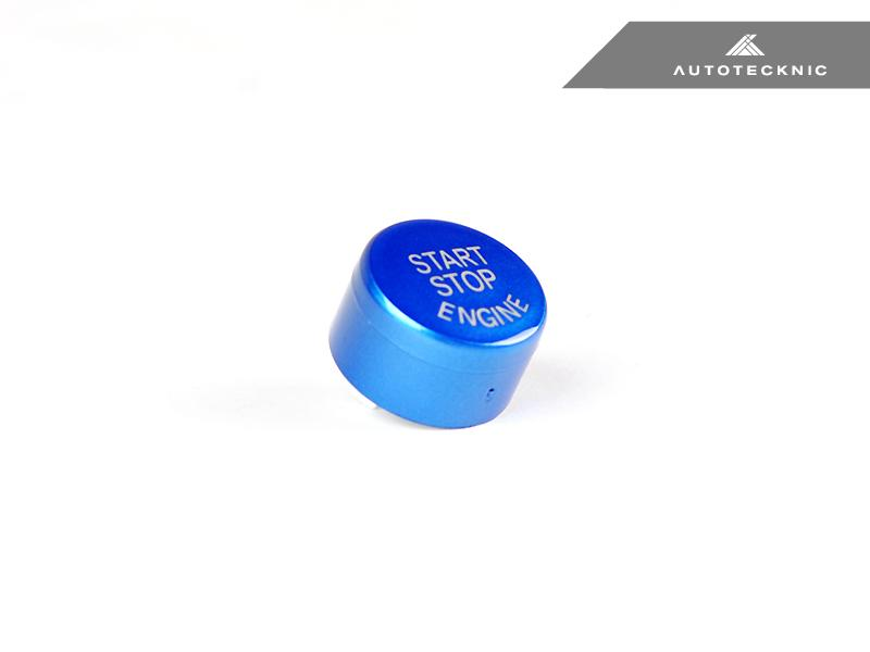 AutoTecknic Royal Blue Start Stop Button - BMW F-Chassis Vehicles