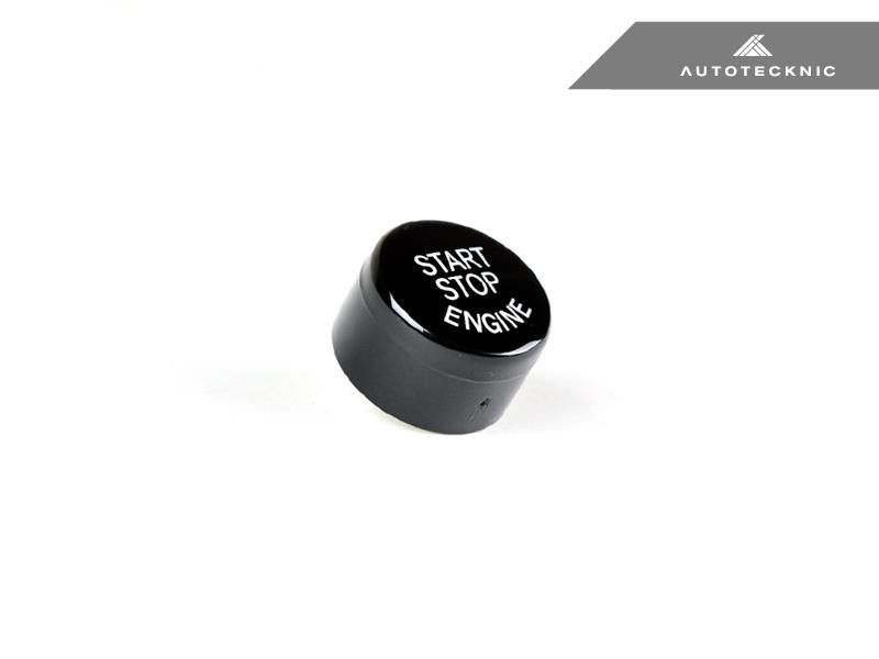 AutoTecknic Gloss Black Start Stop Button - BMW F-Chassis Vehicles