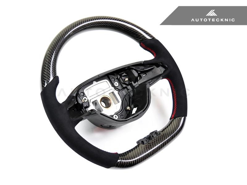 AutoTecknic Replacement Carbon Steering Wheel - Mercedes-Benz Sport 2015-Up (Various Vehicles)