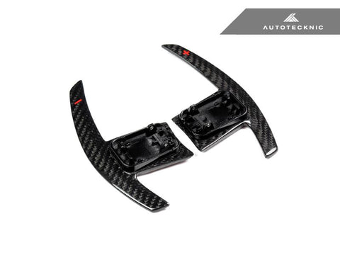 AUTOTECKNIC DRY CARBON BATTLE VERSION SHIFT PADDLES - F90 M5 | G30 5-SERIES | G32 6-SERIES GT