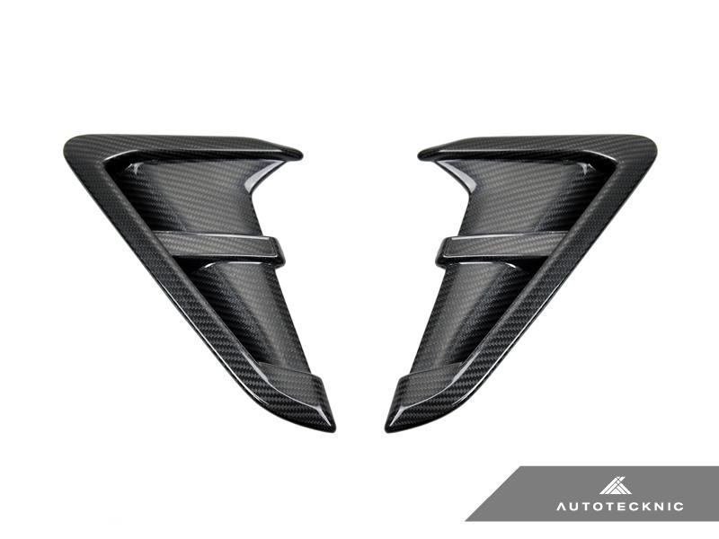 AUTOTECKNIC REPLACEMENT DRY CARBON FIBER FENDER TRIMS - F97 X3M | F98 X4M | G01 X3 | G02 X4