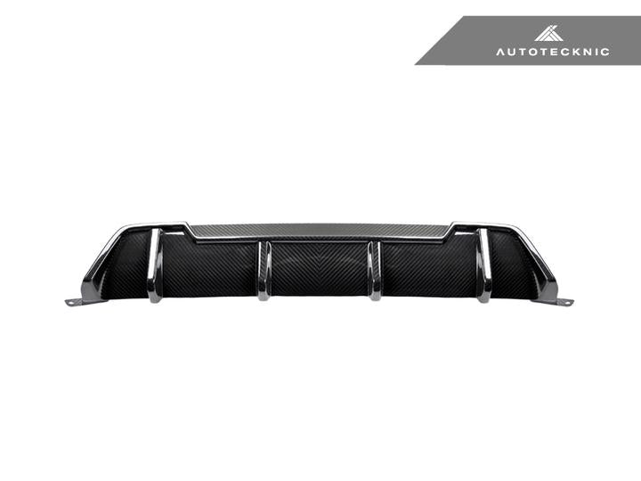 AUTOTECKNIC DRY CARBON EXTENDED-FIN COMPETITION REAR DIFFUSER - G20 3-SERIES