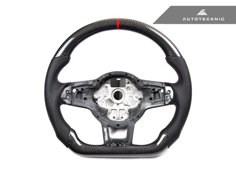 AUTOTECKNIC CARBON FIBER STEERING WHEEL - VW GOLF 7 | GTI | GOLF R