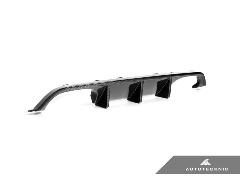 AUTOTECKNIC DRY CARBON EXTENDED-FIN COMPETITION REAR DIFFUSER - F80 M3 | F82/ F83 M4