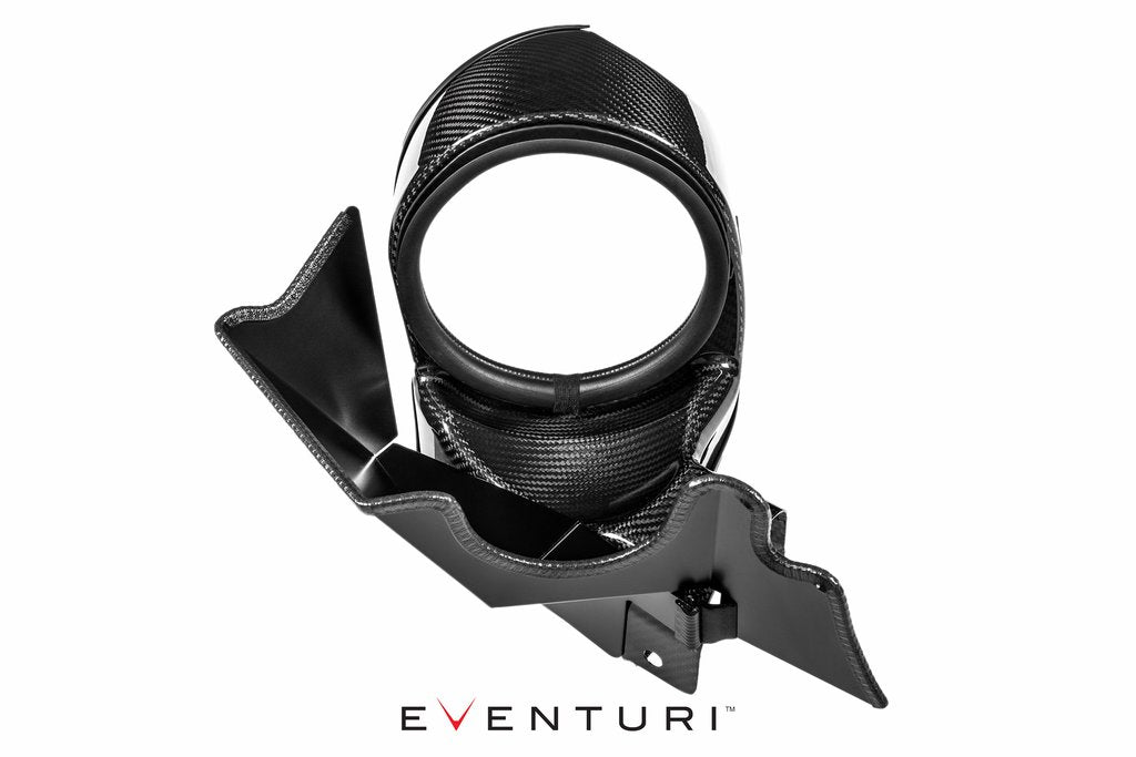 Eventuri BMW F22/F23/F30/F31/F32/F33/F34/F36/F87 N55 Sealed Carbon Duct for version 1 Intake System